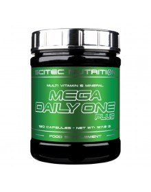 MEGA DAILY ONE PLUS (120CAPS) SCITEC